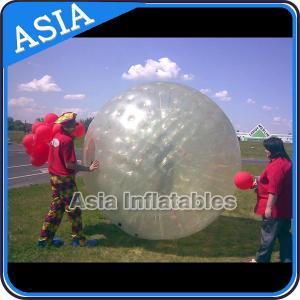 China Transparent Inflatable Grass Ball Zorb Balls For Sale , Inflatable Zorb Ball on sale