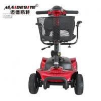 Eco Friendly Large Mobility Scooter Wheelchair For Old Person Double Protection Manufactures