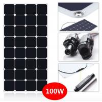 Smallest 130W Thin Flexible Solar Panels For Camping / Travel Tourism Car Manufactures
