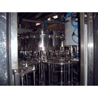 China 5000bph Linear Orange Juice Filling Machines , Filling And Capping Combo Equipment on sale