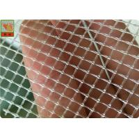 China Square / Diamond Hole Extruded Plastic Netting 100 GSM Polypropylene Material on sale