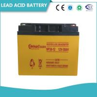 Valve Regulated Sealed Lead Acid Battery Rechargeable Solid Copper Terminal Manufactures