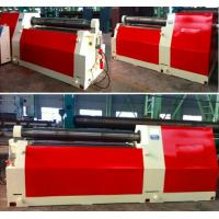 Heavy Duty Steel Sheet Bending Machine , Universal 4 Roll Bending Machine Manufactures