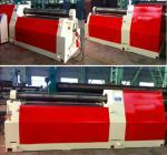 Heavy Duty Steel Sheet Bending Machine , Universal 4 Roll Bending Machine Manufactures