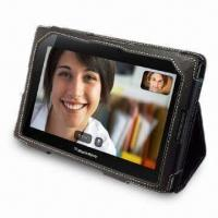 China Leather Case Cover for RIM's BlackBerry Playbook with Stand on sale