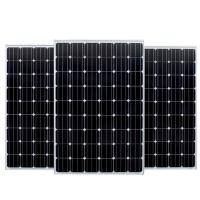 Low Iron Monocrystalline PV Module 200W Flame Resistance With TPT Backsheet Material Manufactures