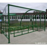 Bike Metal Display Stands Outdoor Furniture In Supermarket Park Manufactures