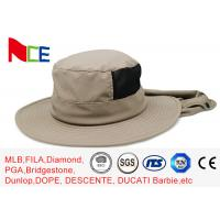Joint Khaki Fishman Bucket Hat Protect neck from sunburn With Adjustable Manufactures