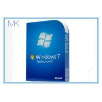 China 32/64 Genuine Win 7 Professional Product Key License In Good Condition on sale