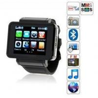 GSM Quad-Band Watch Mobile Phone QT-K1 Bluetooth+1.3MP Camera, FM, MP3, MP4 (QT-K1) Manufactures