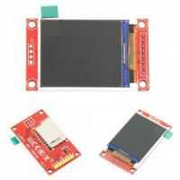 China 1.8 Inch Serial Port SPI TFT LCD Display Module 128x160 Resolution With PCB Adapter on sale