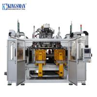 China High Speed Double Station Blow Moulding Machine , Jerry Can Blow Molding Machine on sale