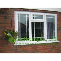 Upvc Fixed Windows With Grilled For Villas, Double glazing Upvc windows from China factory Manufactures
