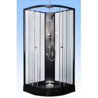 Convenient Comfort Black Corner Shower Cabinets For Large Scale Shopping Malls Manufactures