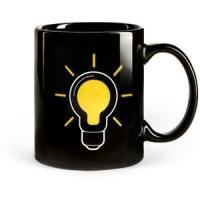 SGS/ROHS/CE certifiction the change colors ceramic mug china the lamp bulb magic cup power mug Manufactures