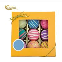 Customized Cool Bubble Bath Bombs , Round Bath Bombs With Essential Oil Manufactures