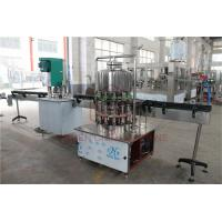 China Semi - Automatic 1L Drinking Liquid Water Bottle Filling Machine / Bottling Packing Line on sale