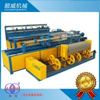 1.4mm - 4.5mm Stainless Wire /  PVC Full Automatic Chainlink Fence Weaving Machine Manufactures