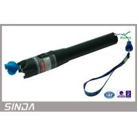 FTTH Light Source Visual Fault Locator, Laser Pen 10mw fiber optic tester For Red Source Manufactures