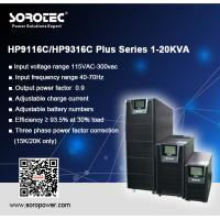 China Reliable 3 phase Online High Frequency UPS Uninterruptible Power Supply 20KVA/18KW on sale