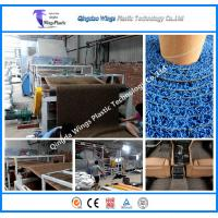 Plastic PVC Coil Car Mat Making Machine PVC Coil Mat With PVC Backing Carpet Production Line Manufactures
