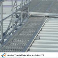 China Raised Mild Steel Expanded Walkway Mesh|Expanded Metal Panels 2440x1220 Customized Size on sale