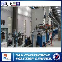 Prepainted Surface Mineral Wool Sandwich Panel Line , Environmental Roofing Sheet Roll Forming Machine Manufactures