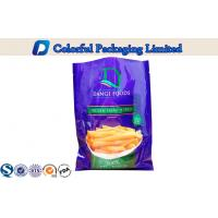 Three Side Sealing food packaging pouches for Potato Chips / snack Manufactures