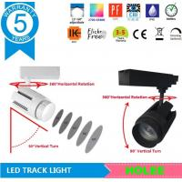 China 15W 4000K adjustable focal cree led track light 4 phase 5 years guarantee with good price on sale