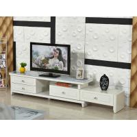 Factory wholesale TV24 pastoral paint retractable glass TV cabinet TV cabinet modern cabinet Manufactures