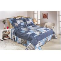 Microfiber Material Home Bed Quilts Oblong Shape For Bedroom Decoration Manufactures