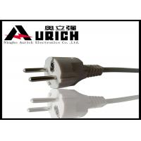 China Two Round Pin Power Cord European Type For Washer Dryer OEM & ODM Service on sale