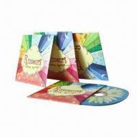Quality Cardboard CD Sleeves with Full-Color Printing and Matte/Glossy Lamination Finished for sale