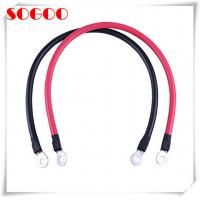 China Ground Lug Battery Cable Assembly , Ring Terminal Wiring Harness Jst Connector on sale