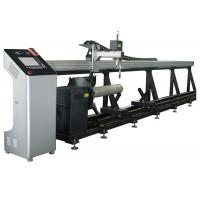 Tube Master 2 Axis CNC Plasma Mild Steel Pipe Cutting Machine with Panasonic Motor Manufactures