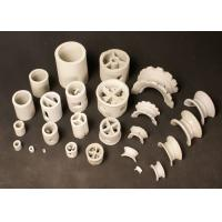 Industrial Alumina Ceramic Random Packing Cascade Rings In Absorbing Tower Manufactures