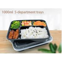 China Healthy Premium PP Food Trays Disposable Plastic Food Box With Soup Cups on sale