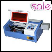 50W Portable Mini Laser Engraving Machine For Rubber / Wood / Acrylic / Glass Manufactures