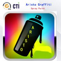 Quality Solvent Based / Water Based Graffiti Spray Paint With Fat / Medium / Skinny Nozzle for sale