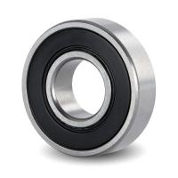 China 6201 2RS WATER PUMP BEARING BALL BERING WITH CHROME STEEL P0 GRADE on sale