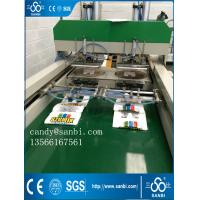 Automatic T-Shirt Bag Making Machine High Speed Used For Shopping Market Manufactures