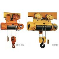 Single speed monorail electric hoist Manufactures