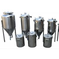 Common Diy SS Home Beer Making Equipment With Vacuum Relief Valve Manufactures