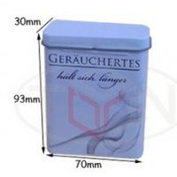 Cigarette case, cigarette tin box, tin box packing, tin pack function can co., td Manufactures