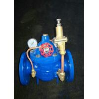 2 Spool Hydraulic Control Valve , Hydraulic Pressure Relief With Pressure Gauge Manufactures