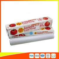 Ovenproof PE Cling Film For Food Wrap , Stretch Wrapping Plastic Roll Manufactures