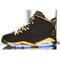 100% Authentic Nike Air Jordan 6 OVO Mens Shoes Black Gold *clothing-wholesale-online.com Manufactures