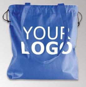 China Design Christmas Small Drawstring Shopping Non Woven Bag, Wholesale cheap recycle polypropylene pp non woven bag with zi on sale