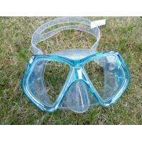 Crystal strap swimming mask leisure sporting diving mask Manufactures