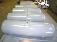 High pressure air compressor vertical tank 0.6m³ for nitrogen , oxygen storage Manufactures